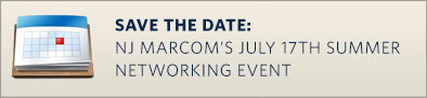 Save the Date: NJ Marcom's July 17th Summer Networking Event