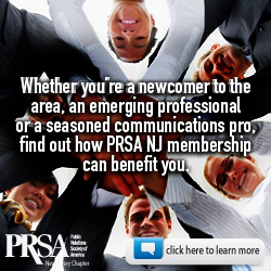 PRSA NJ keeps you current and connects you with a dynamic network of PR and communications professionals. Click here to learn more about the many benefits of membership.